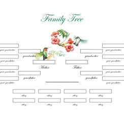 family tree templates 22