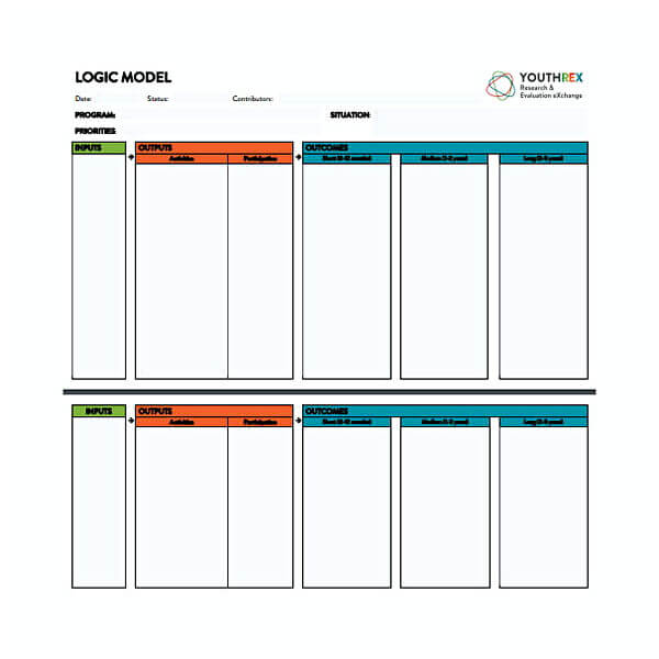 30+ Free Download Logic Model Template For Your Business