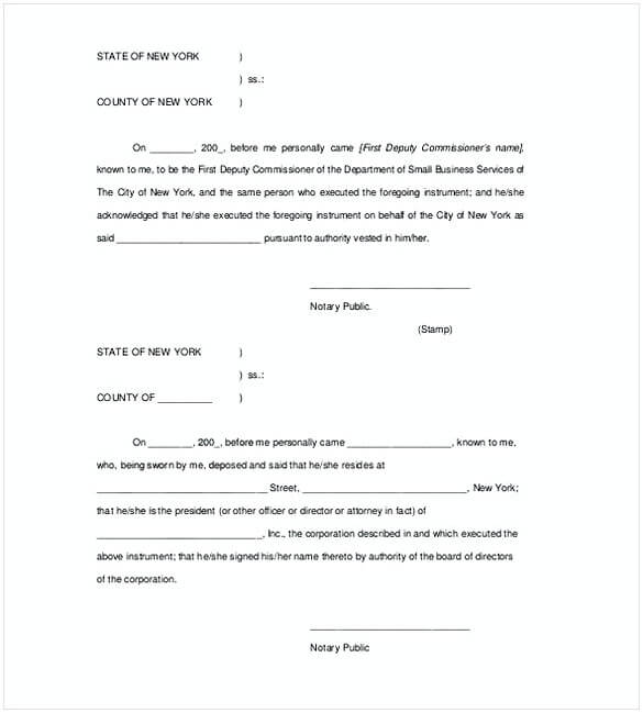 Is A Notarized Letter A Legal Document from moussyusa.com