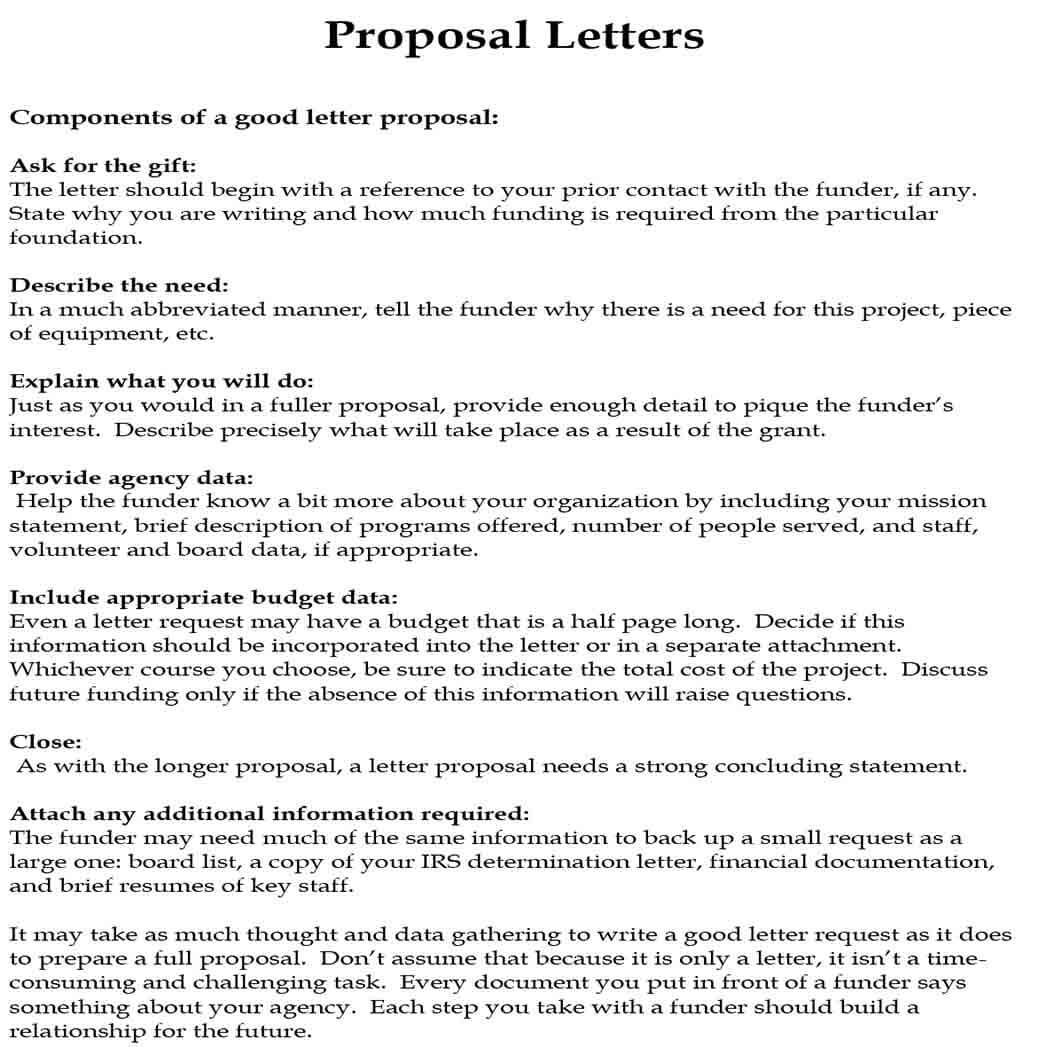 Project Proposal Letter and How to Write It Best | Mous Syusa