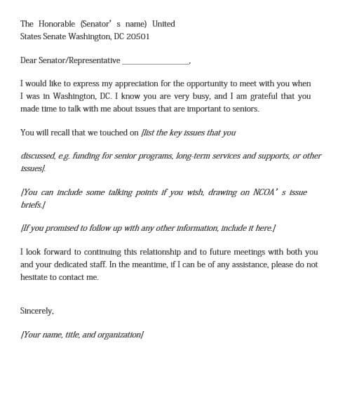 Appreciation Thank You Letter Format