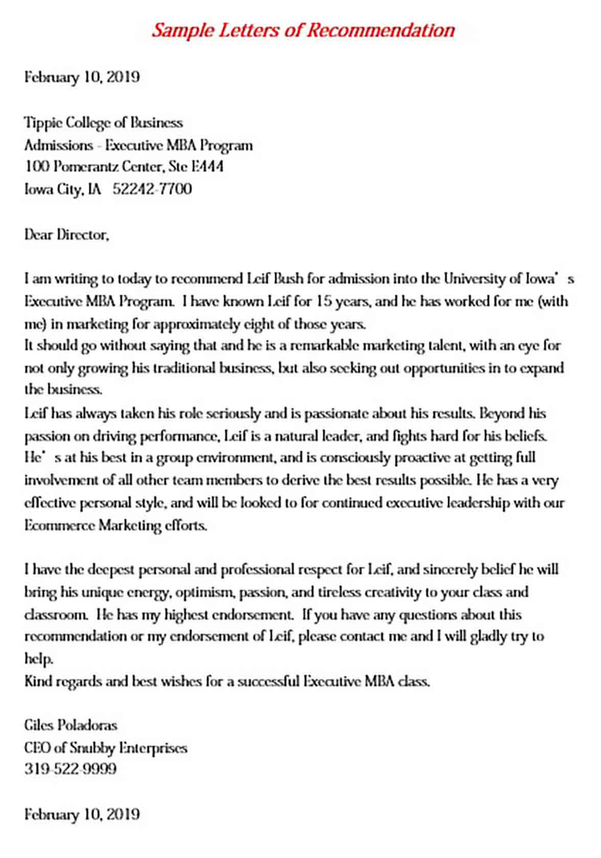 Letter Of Recommendation Template Pdf from moussyusa.com