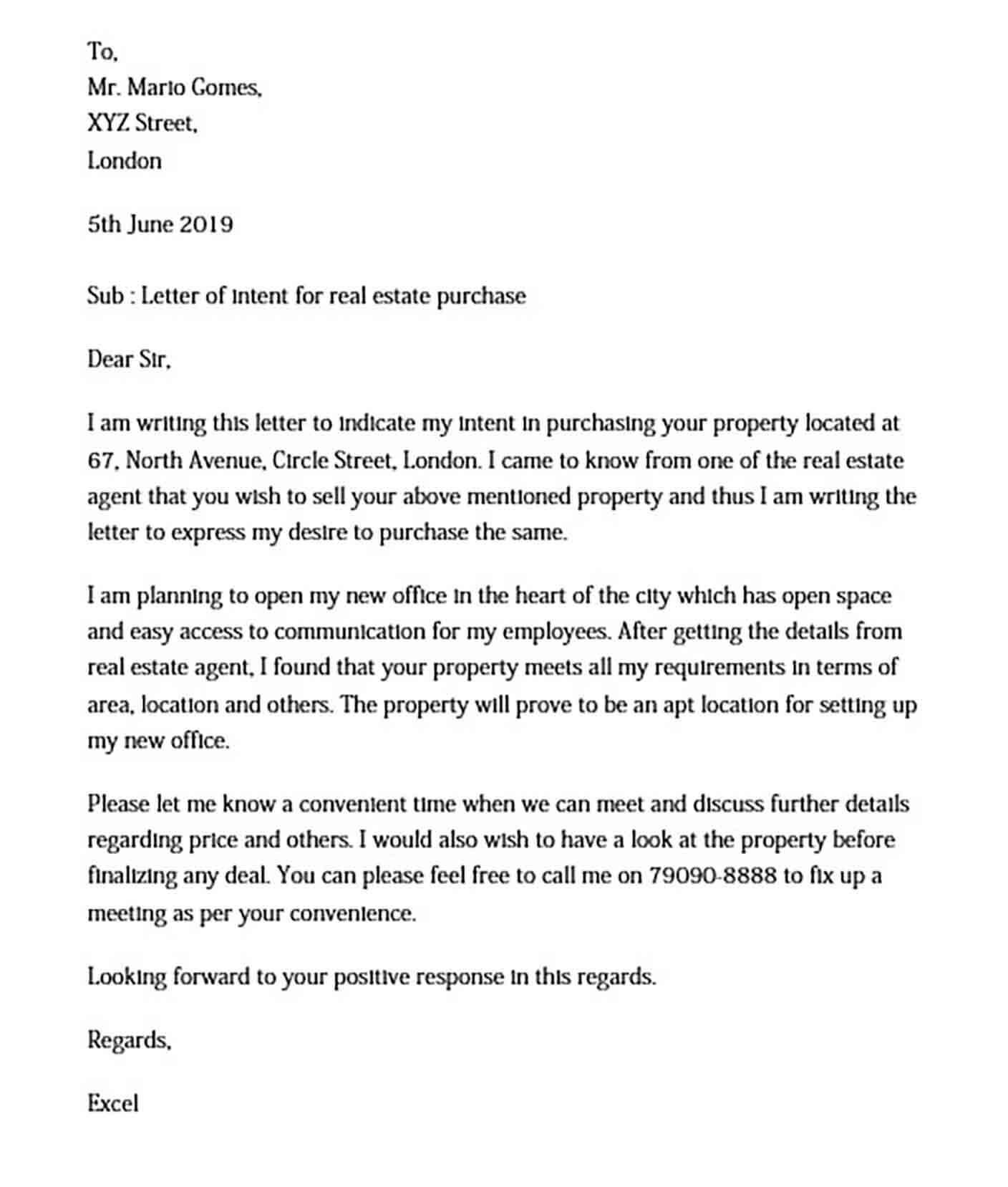 Letter Of Intent To Purchase Business Template Free from moussyusa.com