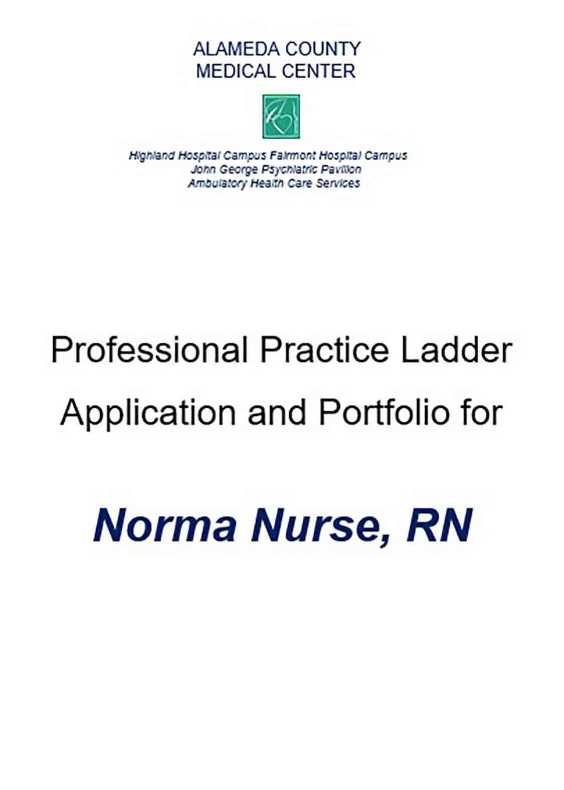 Nursing Recommendation Letter Example