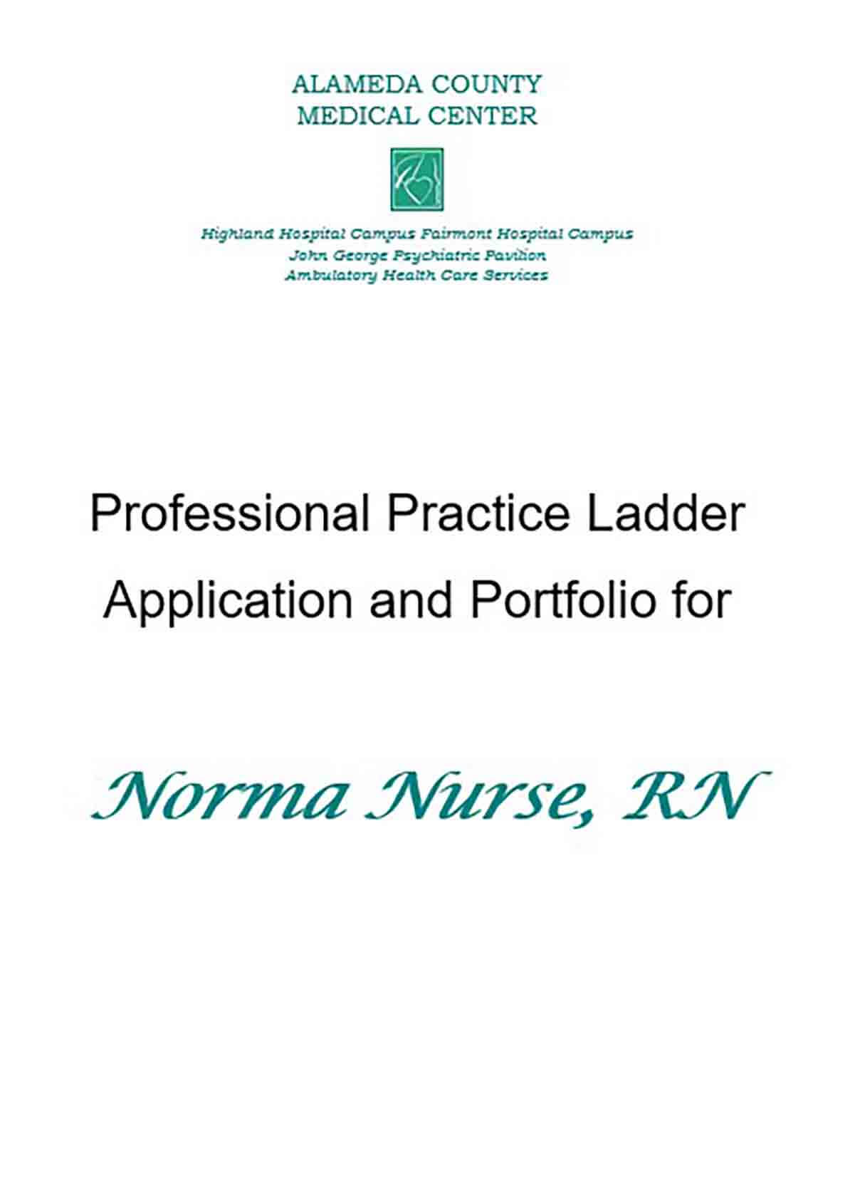 Nursing Recommendation Letter Sample