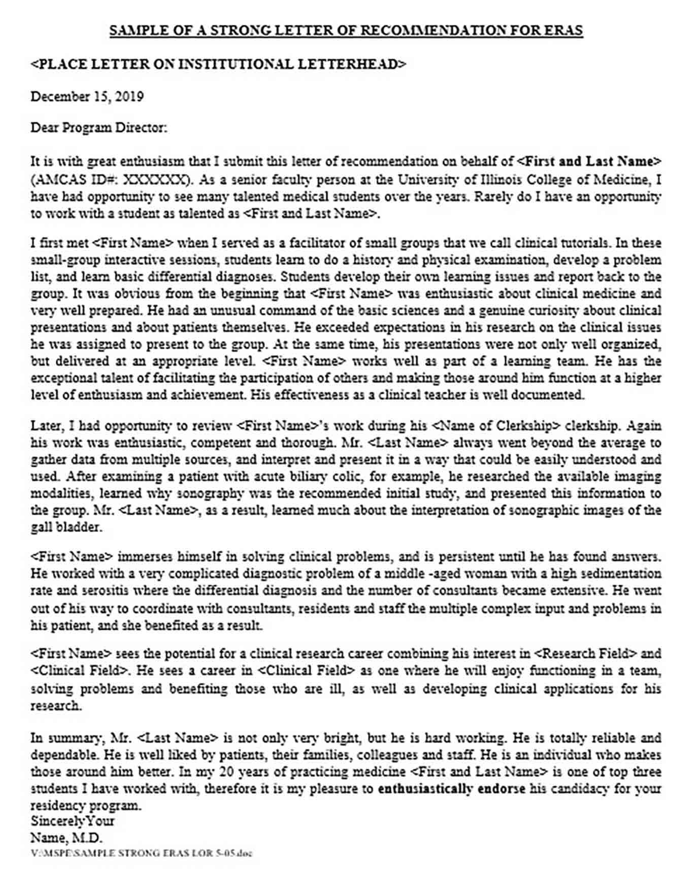 Letter Of Recommendation For Masters Program From Employer from moussyusa.com
