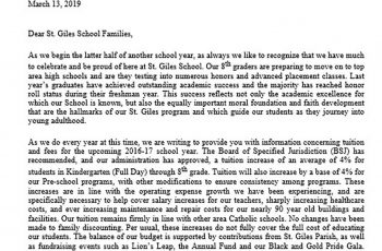 Sample Financial Aid Hardship Letter
