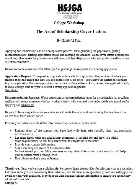 Application Letter For Scholarship Request from moussyusa.com