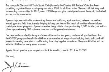 Sports Sponsorship Introduction Letter
