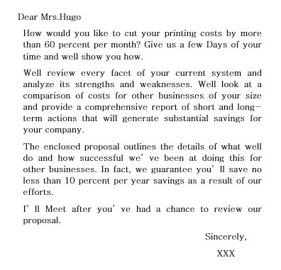 business proposal letter templates
