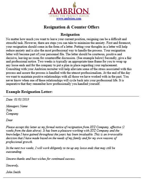 counter offer letter and how to make a good one