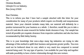 sample commitment letter of introduction