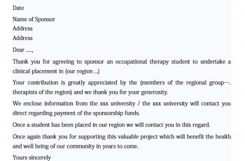 sample letter of thanks for sponsorship