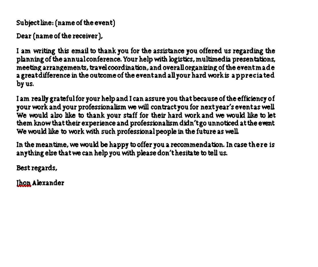 Examples of Closing a Business Letter
