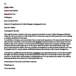 Formal Business Letter templates Word
