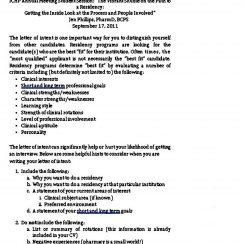 Medical School Waitlist Letter of Intent