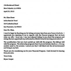 Sample Closing Business Thanks Letter