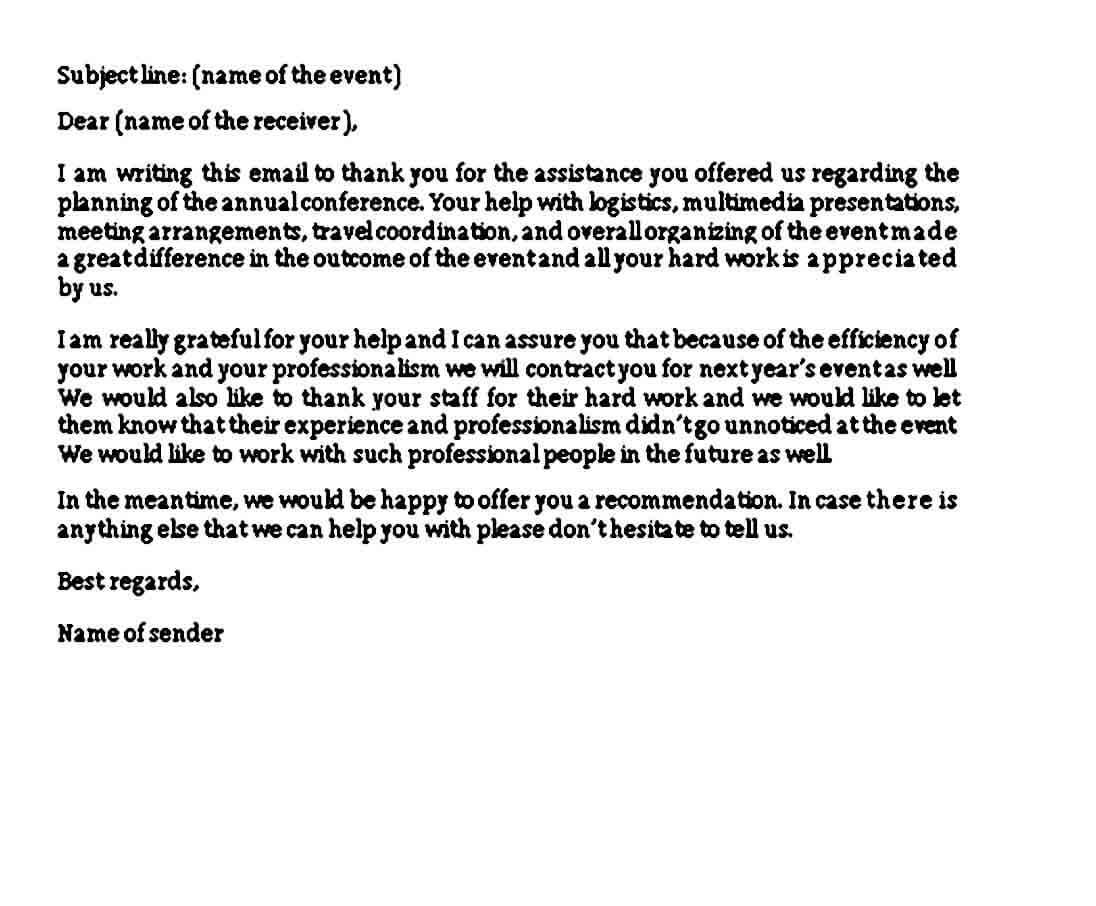Sample Closing a Business Letter Word