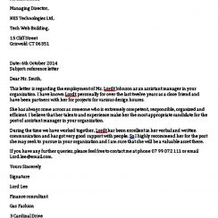 Sample Reference Letter for Friend