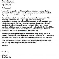 Student Cover Letter