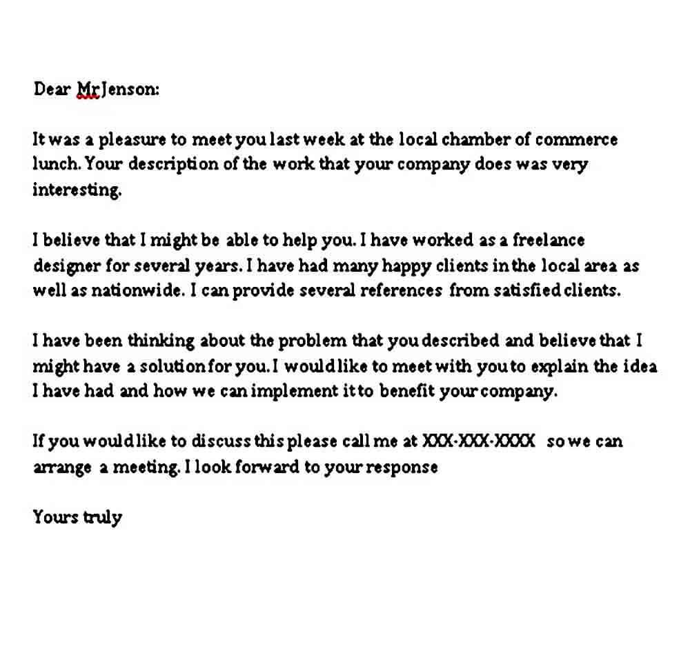 general business letter