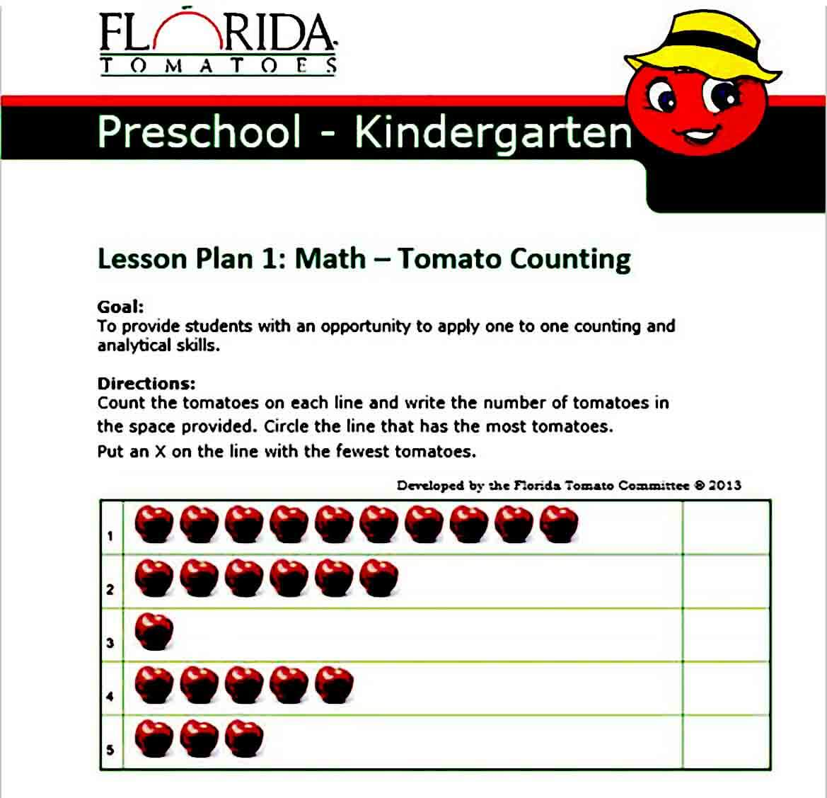 Preschool Lesson Plan Ideas