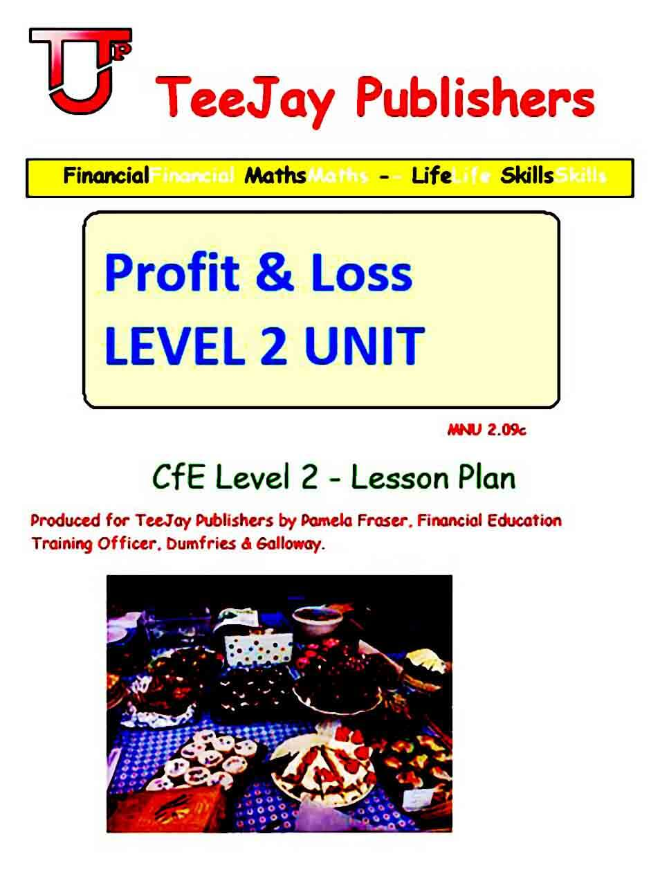 Profit and Loss Worksheet templates