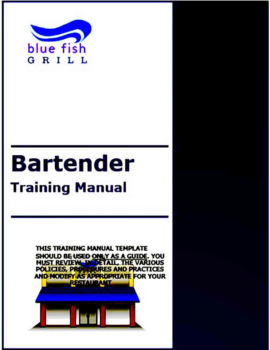 Sample Training Manual Format
