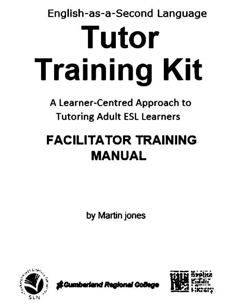 Sample Tutor Training Manual