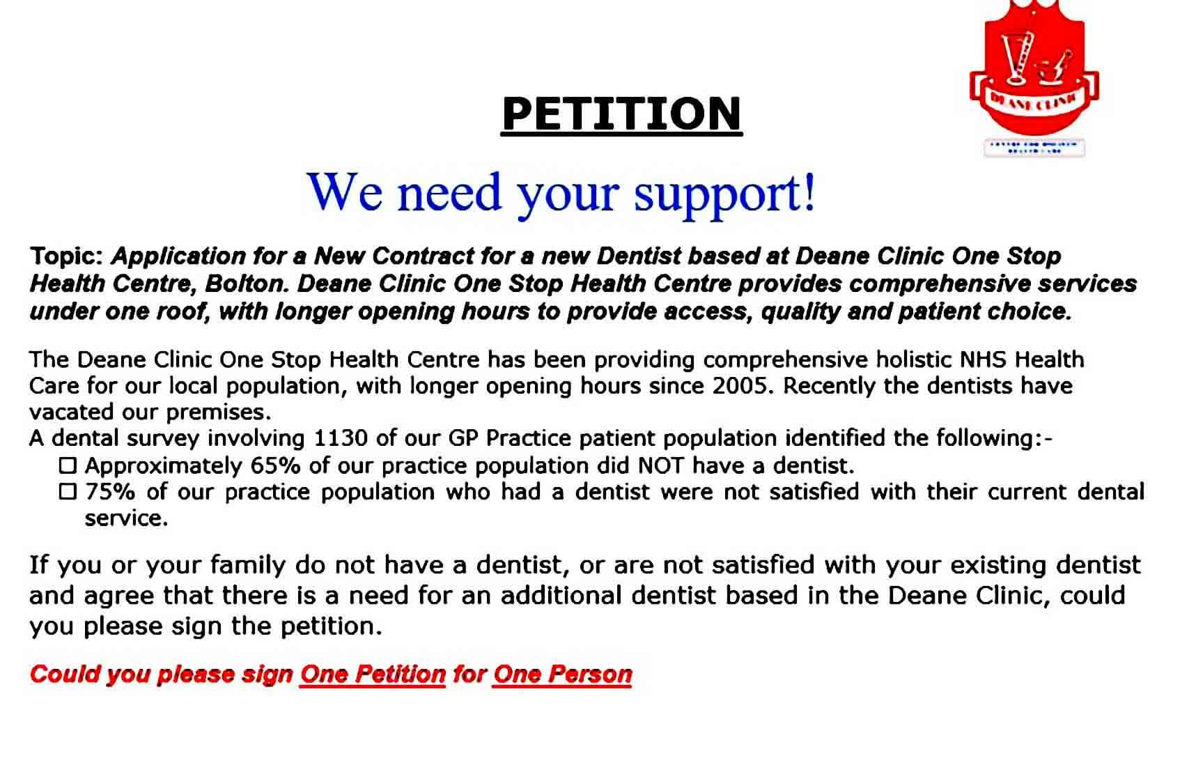 court petition templates