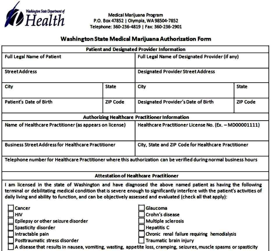 example medical authorization form