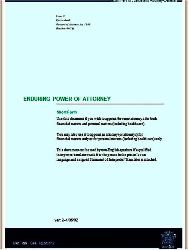 example of limited power of attorney form