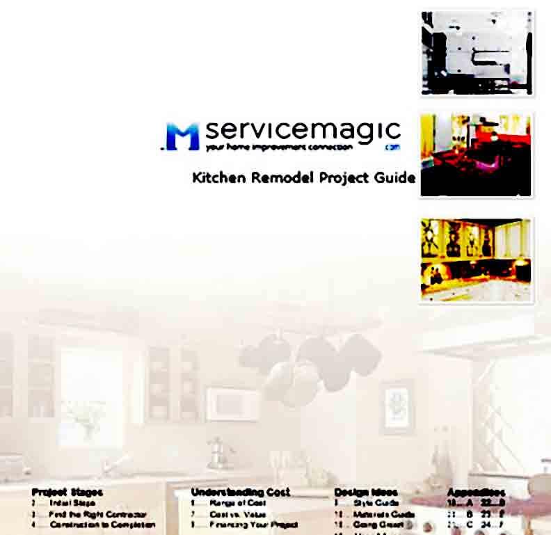 kitchen remodeling estimate templates