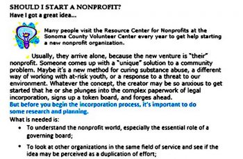 nonprofit startup budget templates