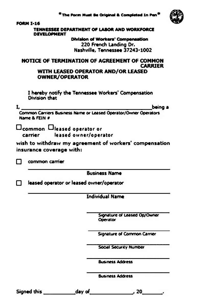owner operator lease agreement template sample