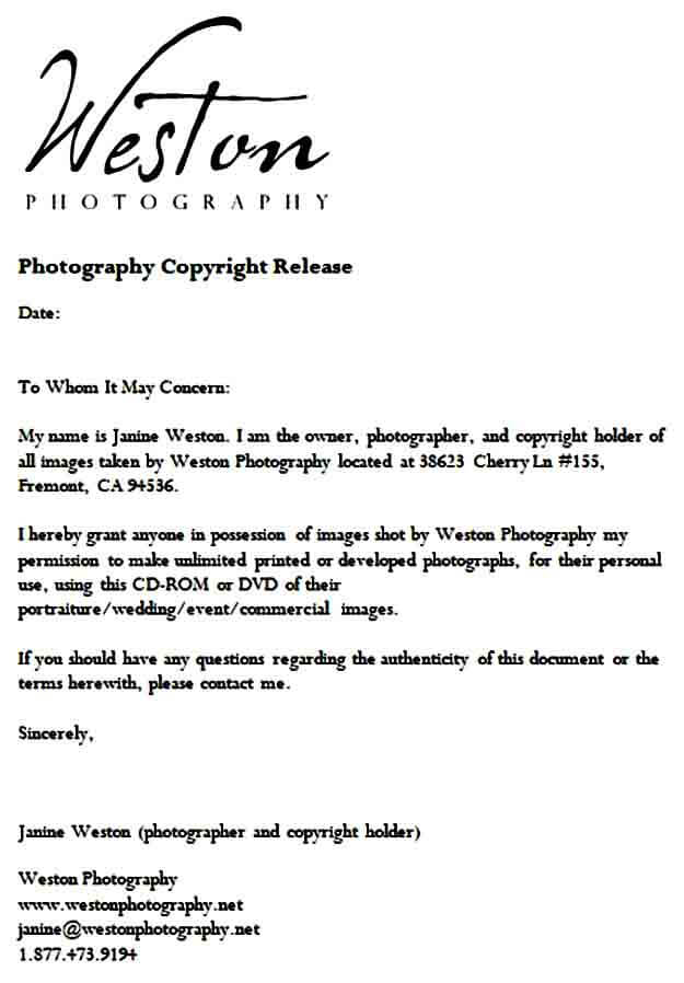 photographycopyrightrelease
