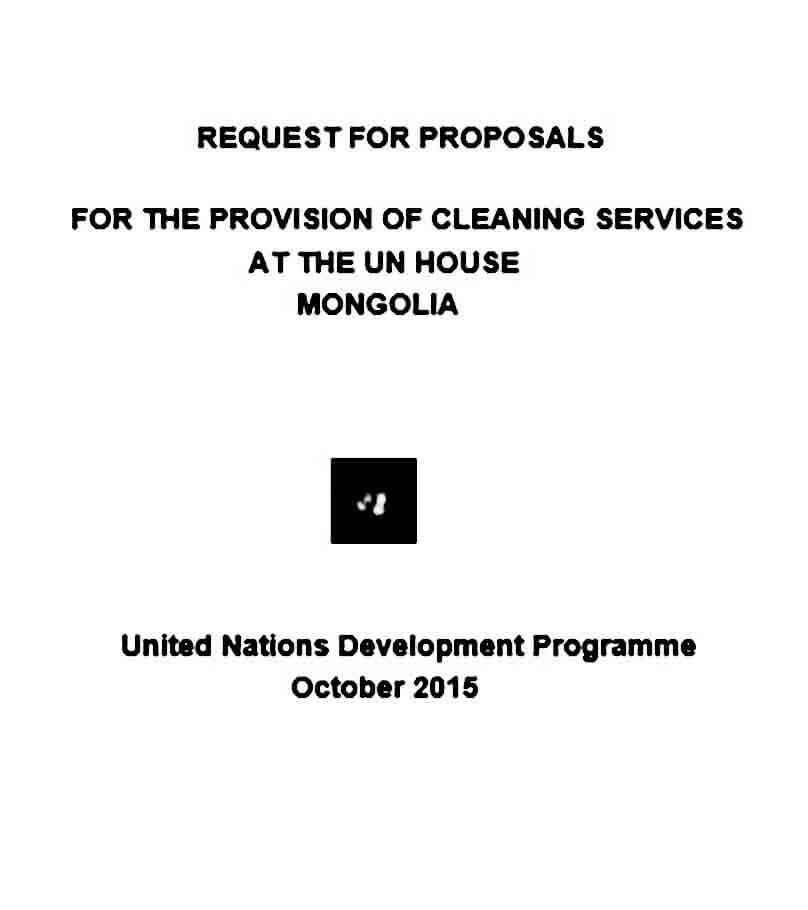 scanned rfp cleaning services at un house