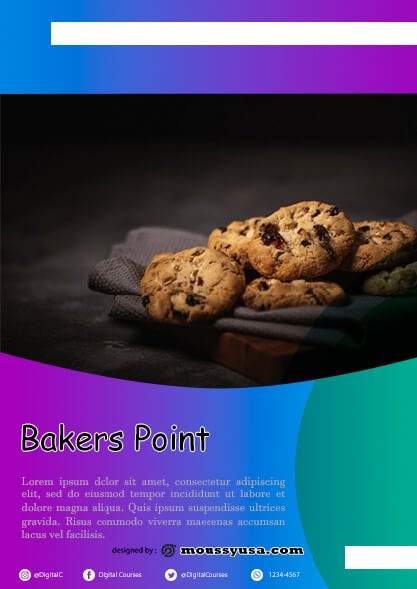 Bakers Point Flyer design ideas