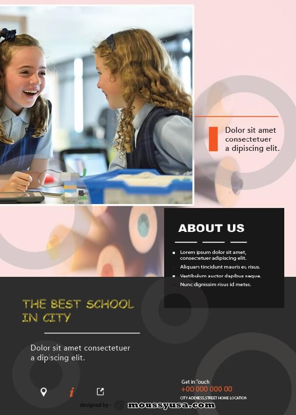 Free Education Flyer template ideas