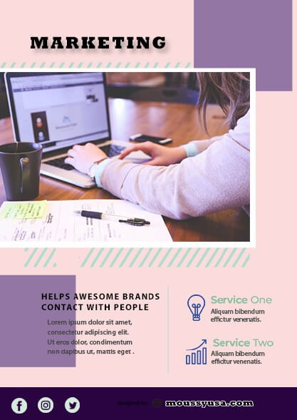 Marketing Flyer design ideas