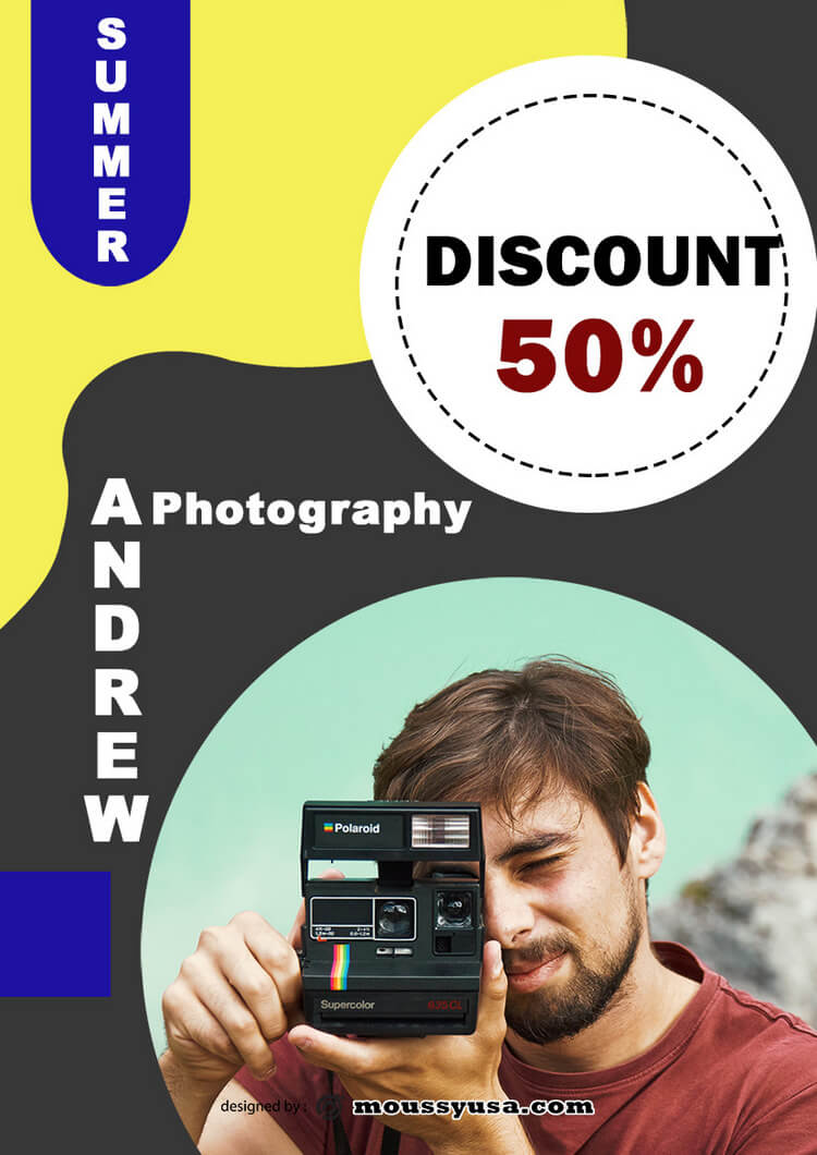 Photography Studio Flyer design ideas