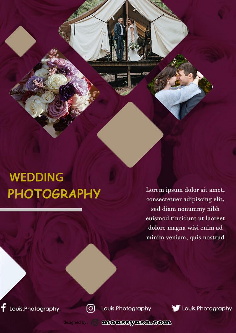 Photography Studio Flyer design psd