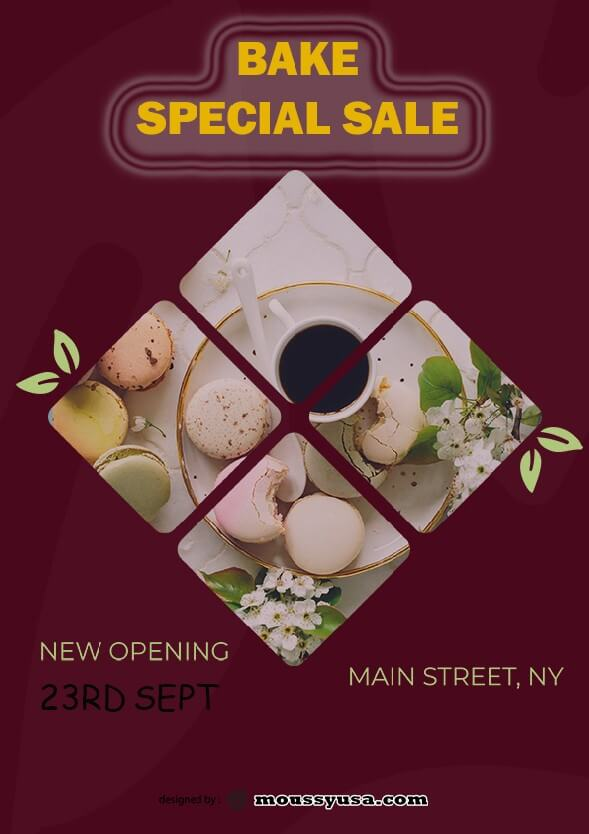 bake sale flyer template ideas