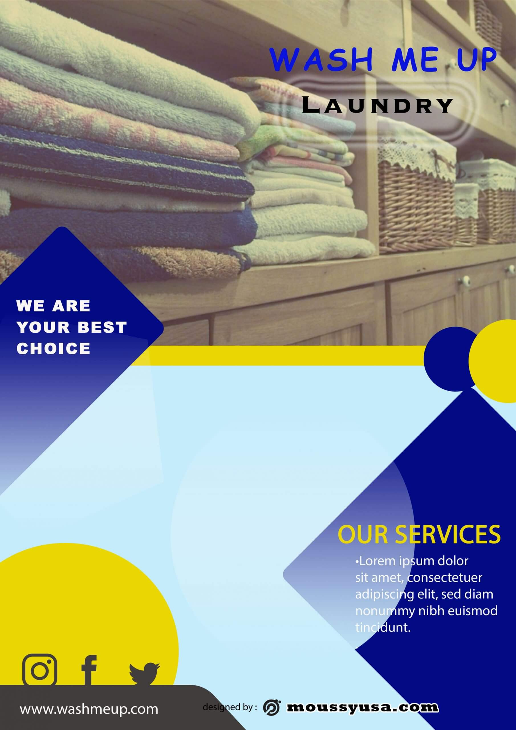 laundry brochure Engineer ideas