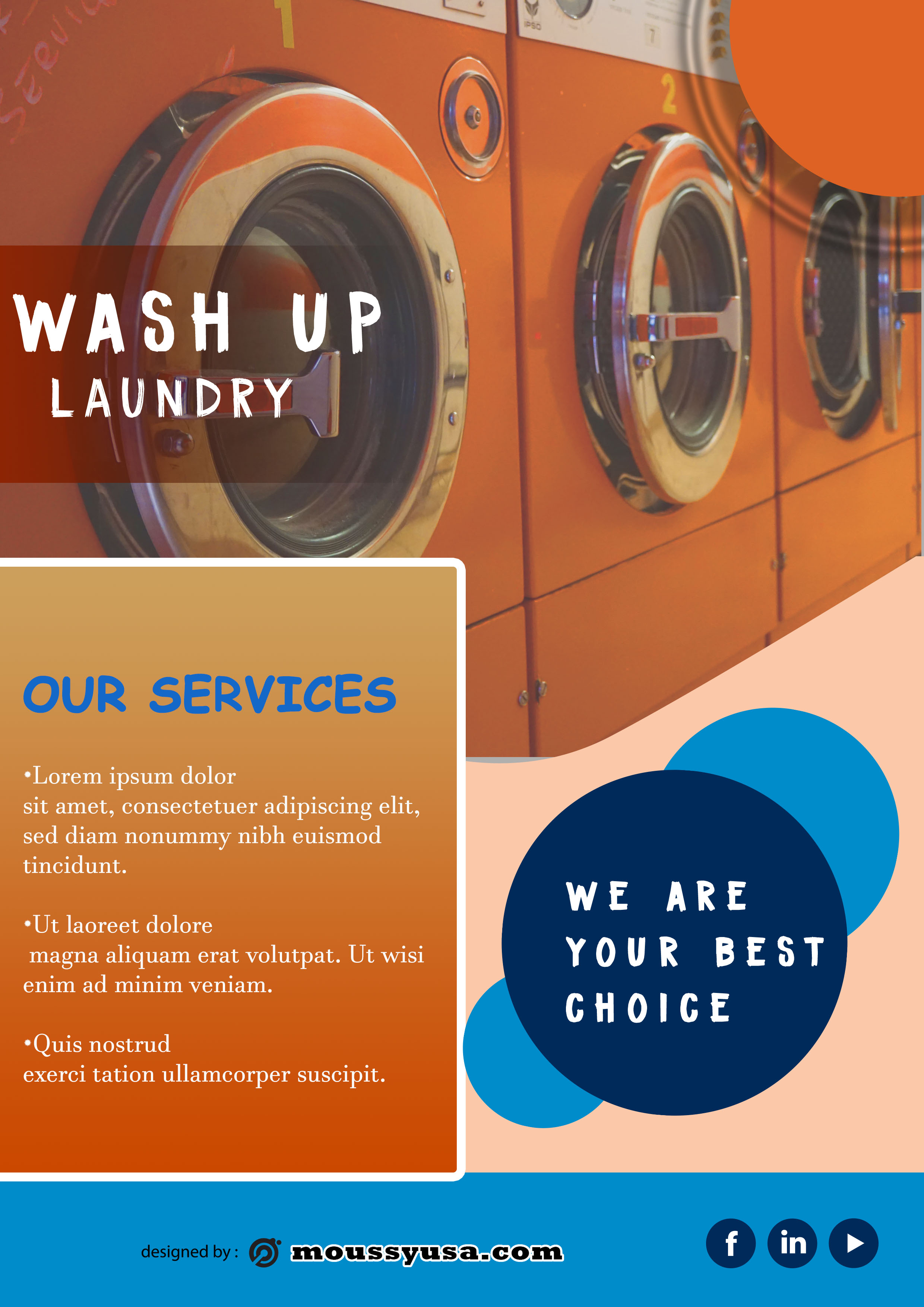laundry brochure examples
