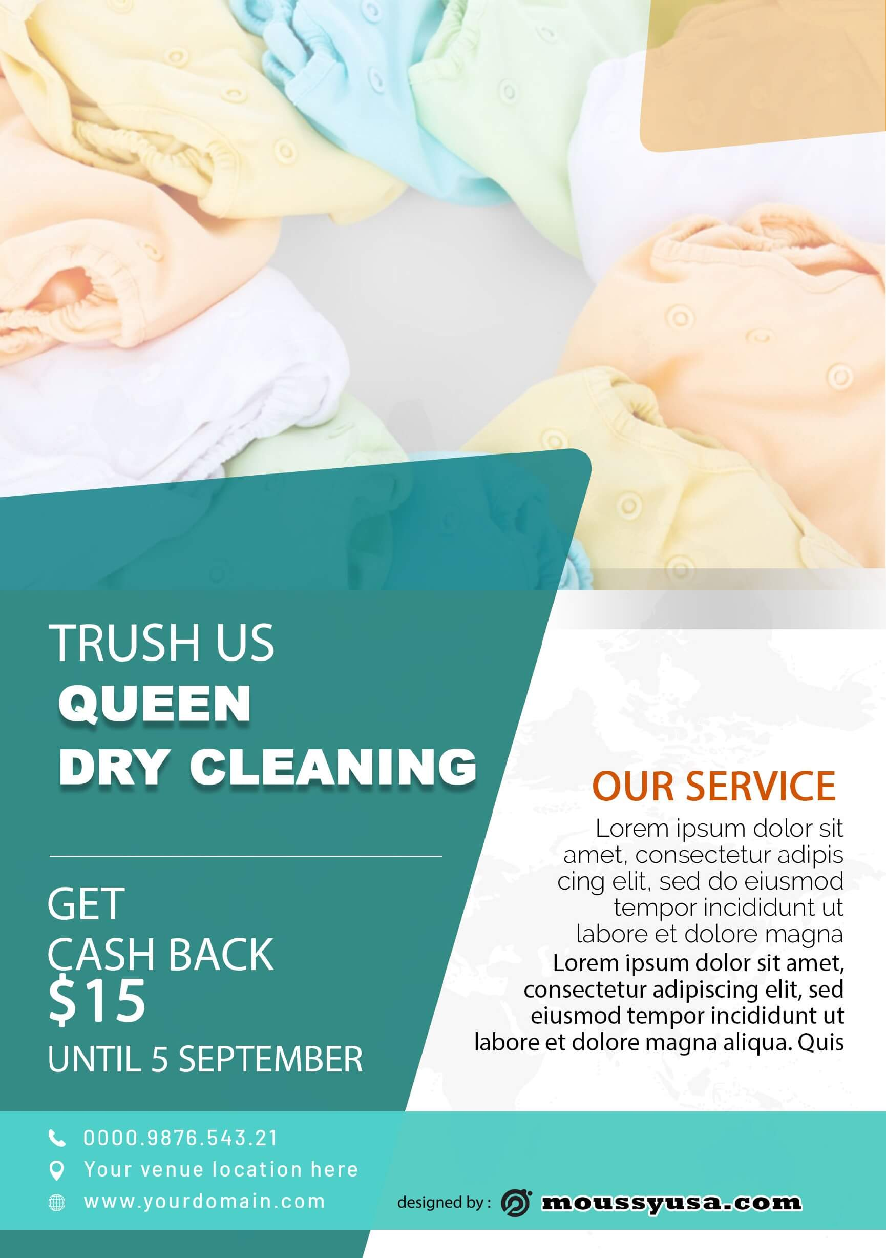 psd dry clean template