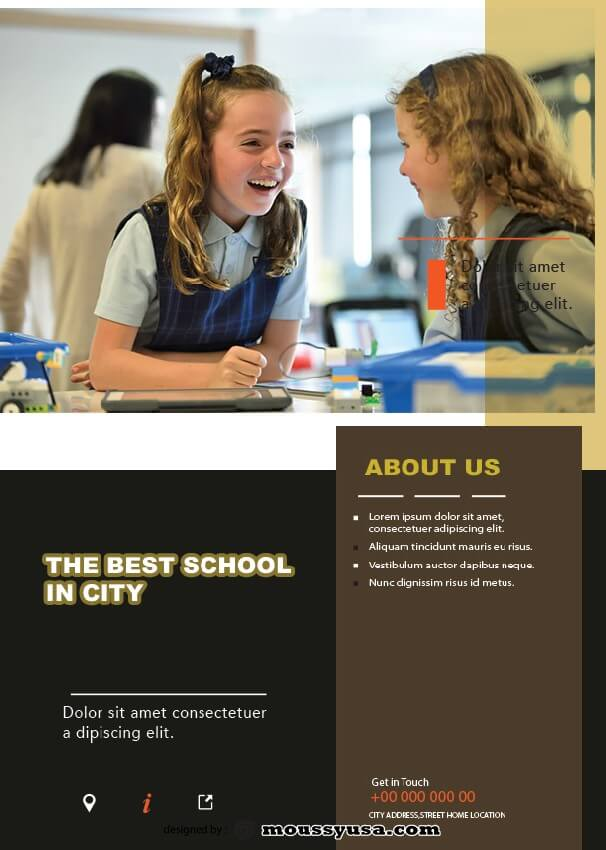 sample Free Education Flyer templates