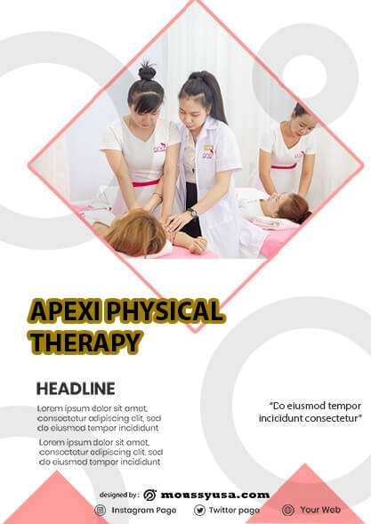 sample Physical Therapy Flyer templates