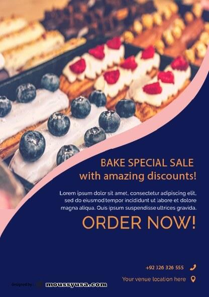 sample bake sale flyer templates