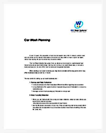Templates Automatic Car Wash Busines